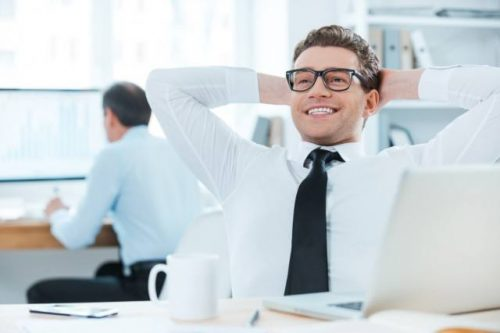 success physically emotionally and mentally happy at work body
